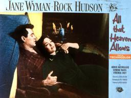 All That Heaven Allows Rock Hudson Jane Wyman 1955. Movie Poster Masterprint EVCMSDALTHEC078HLARGE