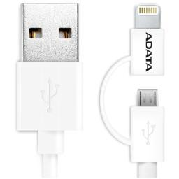 a-data-technology-usa-co-l-amfi2in1-100cm-cwh-adata-apple-lightning-cable-white-2in1-color-box-100cm-gpb1pcap2zeqbhhd