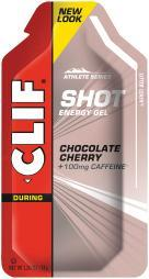 Clif 110425 Clif Chocolate Cherry Turbo Shot Box/24