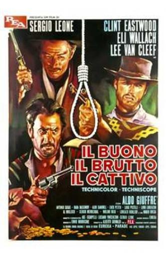 The Good the Bad and the Ugly Movie Poster (11 x 17)