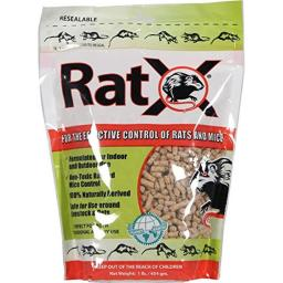 Ecoclear Product Ratx AX00000 All-Natural Non-Toxic Rat & Mouse Killer Pellets, 1 lbs