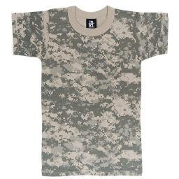Boys Digital Camouflage Army Combat Uniform T-Shirt