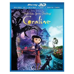 Coraline 3d blu ray/dvd combo pack (2discs) (3-d) BR62117562
