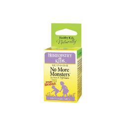 Herbs For Kids No More Monsters Yummy Banana - 125 Chewables