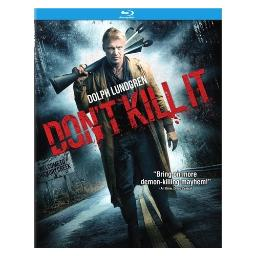 Don't kill it (blu ray) (ws/2.35/dol dig 5.1) BR50075