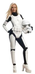 Rubie'S Star Wars Female Stormtrooper, White/Black, Small RU887464SM