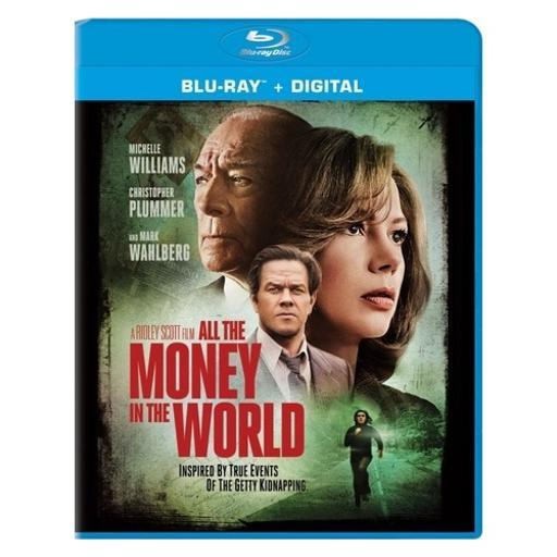 All the money in the world (blu ray w/digital) HZD4IQBMTZPJTGHA