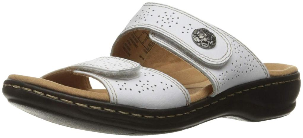 cfa489c07254 Clarks CLARKS Womens leisa lacole Open Toe Casual Slide Sandals ...