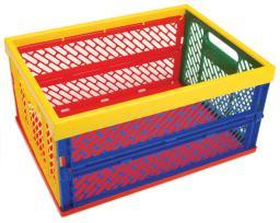 """Collapsible Crate Large-18.75""""x13.5""""x9"""""""