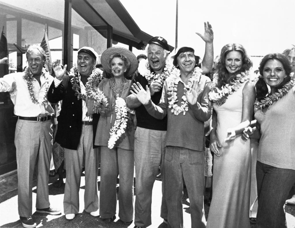 A publicity still of Gilligans Island cast members Photo Print