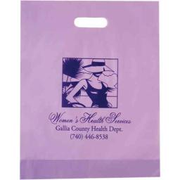AAB 19FD12153 12 in. x 15 in. Frosted Die Cut Bag  - Pack of 250