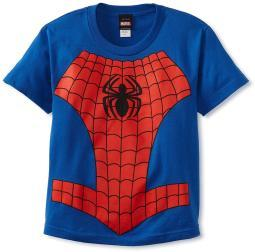 The Amazing Spider-Man Boys' Spider In Me Costume T-Shirt