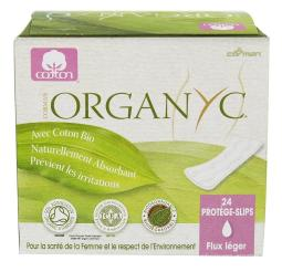 Organyc - Organic Cotton Menstrual Panty-Liners Folded Light Flow - 24 Liner(s)