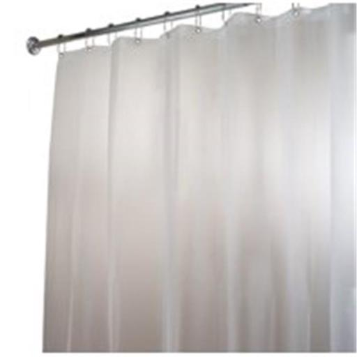 Inter-Design 14752 Shower Curtain-Liner Clear-Sand