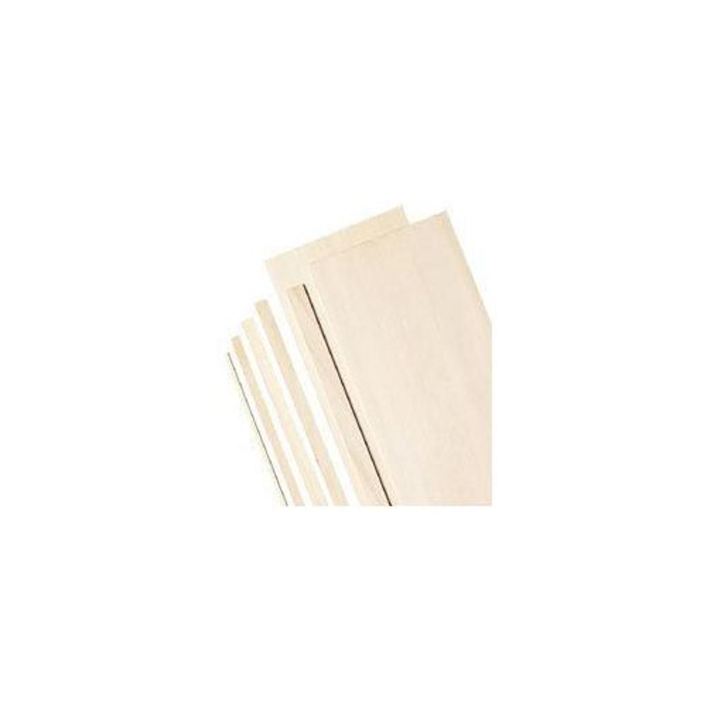 "Alvin ws3165 6"" bass wood sheets 1/16"""