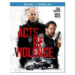 Acts of violence (blu ray w/dig hd) (ws/eng/eng sub/sp sub/eng sdh/5.1dts) BR53968