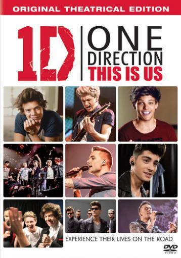 One direction-this is us (dvd/ultraviolet) 1489339