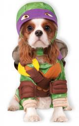 Donatello Teenage Mutant Ninja Turtles Pet Costume Donny TMNT Dog