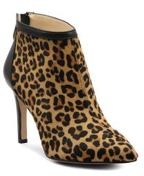 Adrienne Vittadini Womens nyla Calf Hair Pointed Toe Ankle Fashion Boots