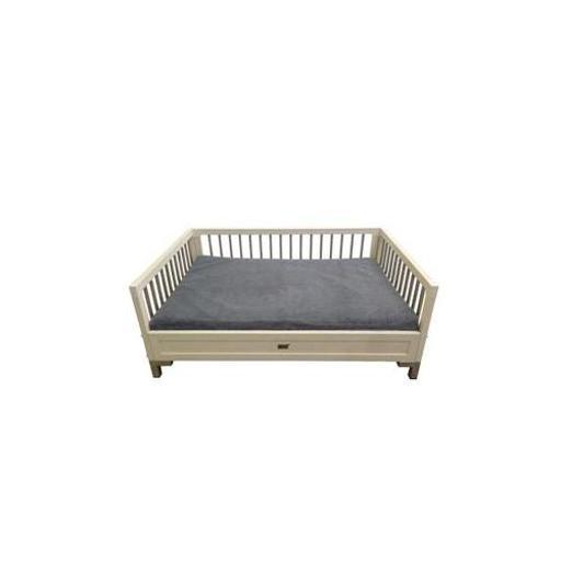 New Age Pet Ehhb204L Mahattan Loft Bed Antwhite