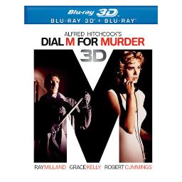 Dial m for murder (blu-ray/1954) (3-d) BR298479