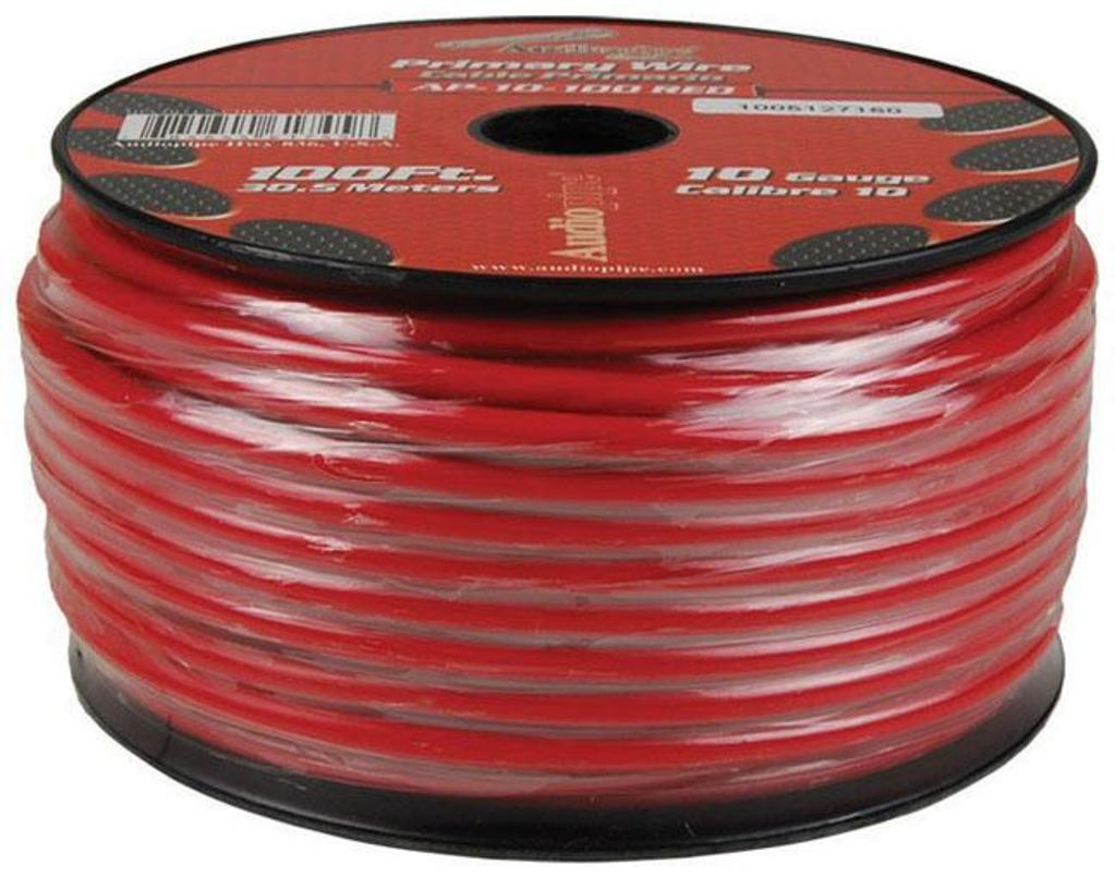 Nippon Audiopipe 10 Gauge 100ft Primary Wire Red Central Locking Wiring Diagram