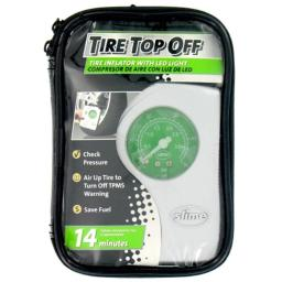 Access Marketing - Slime Tire Top Off Compressor & Inflator With LED Light  4002