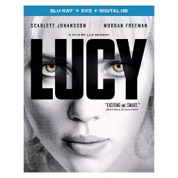 LUCY (BLU RAY/DVD W/DIGITAL HD W/ULTRAVIOLET) 25192234019