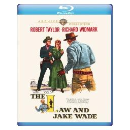 Mod-law & jake wade (blu-ray/non-returnable/1958) BR652650