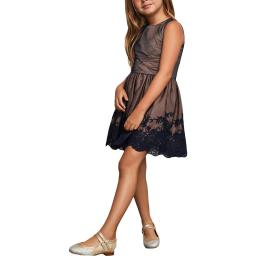 BCBGirls Embroidered Girls Party Dress