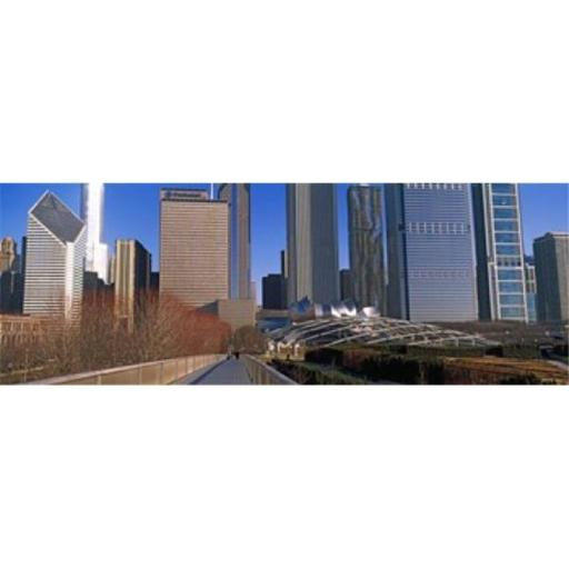 Panoramic Images PPI143699L Millennium Park with buildings in the background Chicago Cook County Illinois USA Poster Print by Panoramic Images - 3