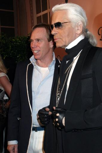 Tommy Hilfiger, Karl Lagerfeld At Arrivals For Unveil The Night With Dom Perignon Vintage 1998, Skylight Studios, New York, Ny, Thursday, June 02.