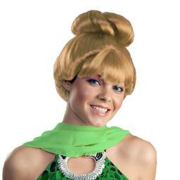 Tinker Bell Wig Peter Pan Disney Fairy Tinkerbell Womens Adult Tink Movie