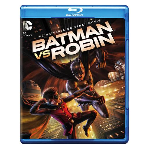 Batman vs robin (blu-ray/dvd/digital hd/uv/2 disc/animated/dc universe mov) CZG9SIBUYSC2TZSV