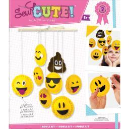 Mobile Sew Cute! Felt Kit-Emoji