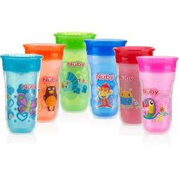 DDI 2276638 Nuby? No-Spill Insulated 360 Wonder Cup Case of 12