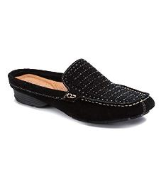 Bare Traps Womens Orvyn Leather Closed Toe Mules