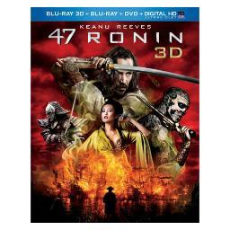 47 ronin 3d combo pack (blu ray 3d/blu ray/dvd/digital hd w/uv) (3-d) BR61131766