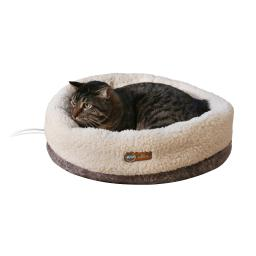 K&h pet products 4932 bomber gray k&h pet products thermo-snuggle cup pet bed bomber gray 14 x 18 x 7