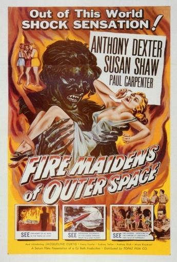 Fire Maidens From Outer Space Movie Poster Print (27 x 40) EQNXVL6ZBJ8SHU3T