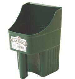 Little Giant 150422 Enclosed Feed Scoop, 3 Quart, Green