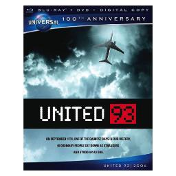 United 93 blu ray/dvd w/digital copy-nla BR61122388