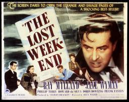 The Lost Weekend Philip Terry Jane Wyman Ray Milland Doris Dowling 1945 Movie Poster Masterprint EVCMSDLOWEEC001HLARGE