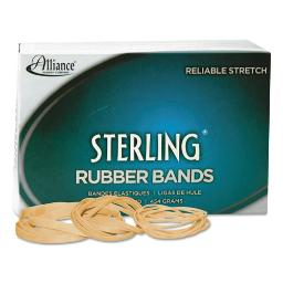 """Sterling Rubber Bands Size 8 0.03"""" Gauge Crepe 1 Lb Box 7,100 Per Box   1 Box of: 1"""