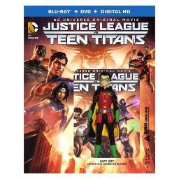 Justice league vs teen titans (blu-ray/2 disc/deluxe edition) BR590340