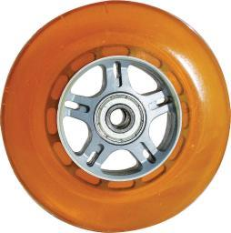Curb Dog Orange W/Bearings Scooter Wheel