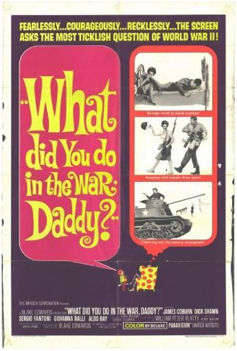 What Did You Do in the War, Daddy? Movie Poster Print (27 x 40) STRPYAHOLUV0EEVH