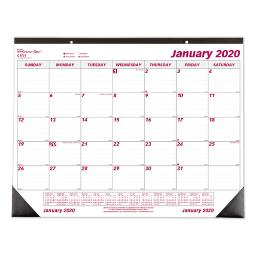 Monthly Desk Pad Calendar Chipboard 22 X 17 2021   Total Quantity: 1