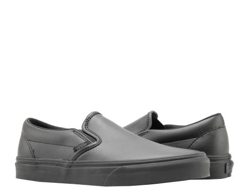 Vans Classic Slip On Black Mono Low Top Sneakers VN0A38F7PXP