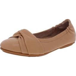 Fitflop Womens Audrey Crinkle Patent Slip On Smoking Loafers